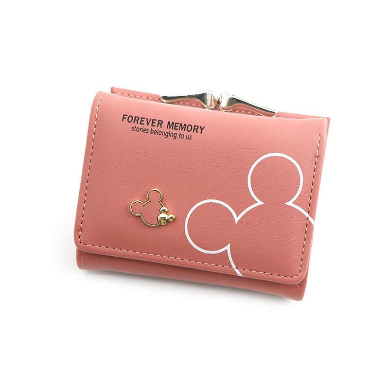 2020 Cartoon Lederen Vrouwen Purse Pocket Dames Clutch Portemonnee Vrouwen Korte Kaarthouder Schattige Meisjes Portemonnee Cartera Mujer Coin Bag