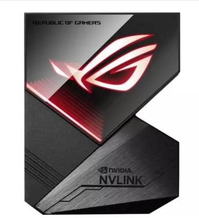 Bilgisayar ve Ofis'ten Grafik Kartları'de ASUS SLI ROG NVLINK 3 6CM RTX2080ti grafik kartı SLI senkronizasyon title=
