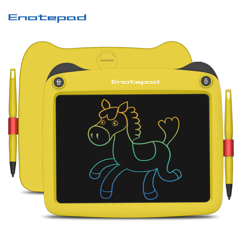 Enotepad 9 Inch Lcd Writing Tablet Drawing Tablet eyes protection ink-free and dust-free writing tablet lcd drawing tablet