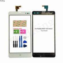 Touch Screen For Noblex N551 GO Action Touch Screen Digitizer Outer Glass Touch Panel Repair Sensor Replacement Parts