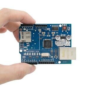 Image 4 - 10 pz/lotto UNO Shield Ethernet Shield W5100 R3 UNO Mega 2560 1280 328 UNR R3 <solo W5100 bordo di Sviluppo