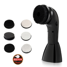 Lightweight USB Rechargeable Handheld Electric Shoe Brush Remove Dust Leather Maintenance Glaze Automatic Portable Bags Cleaning