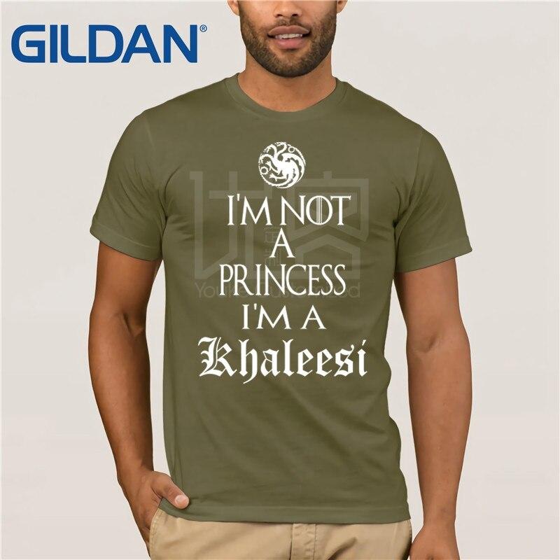 IM NOT A PRINCESS KHALEESI LADIES T SHIRT GAME OF DAENERYS TARGARYEN THRONES TOP
