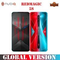 Nubia RedMagic 5S SmartPhone 144Hz Qualcomm Snapdragon 865 8/ 12G 128/ 256G 64MP Sony Triple Camera 4500mAh Mobile Phones