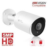 5MP HD Bullet IP Camera Outdoor Outdoor Waterproof Infrared 30m Night Vision Security Video Surveillance Cameras