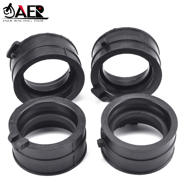 JAER Motor Carburetor Interface Adapter Intake Manifold Pipe Rubber Clamp For Honda 16211-MV9-670 CBR600 CBR 600 F2 F3 1991-1998