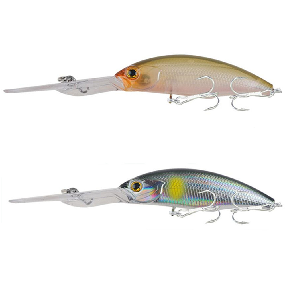 Floating Minnow Fishing lure 9.5cm 8g Crankbait Artificial Hard bait Bass Wobblers Carp Pike Lures Quality Pesca fishing tackle