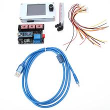 USB Port CNC Laser Engraving Machine Control Board 12V/5V 3 Axle driver board with Control Panel For Woodworking DIY CNC Machine inverter welding line board wsme315 potentiometer control panel control panel