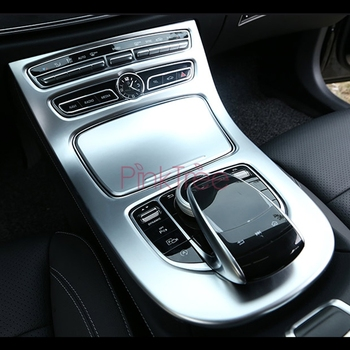 For Mercedes Benz E Class W213 2016 Gear Box Interior Cover Trim Car Styling Tuning Accessories