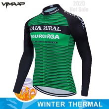 Thermal Cycling Jersey Bicycle Long Shirt Bike Sports Wear Winter Warm Coat Clothing Sleeve Motocross Mountain Jacket Tight Top