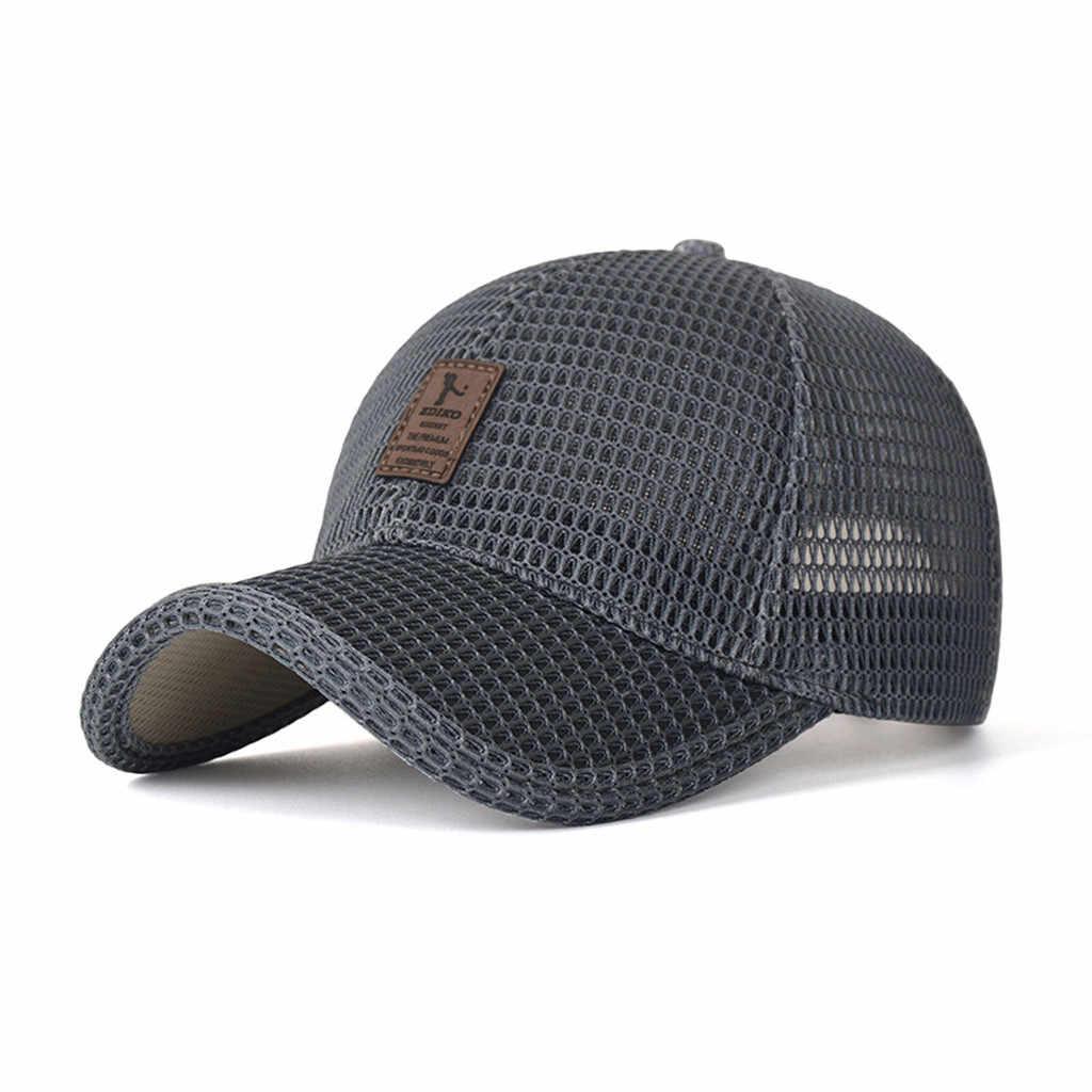 Casquette d'été maille casquette de baseball en cuir pu marque casquettes femmes conception classique sport casquettes golf