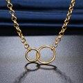 Ожерелье DOTIFI из нержавеющей стали 316L для мужчин и женщин, цепочка в стиле панк, ожерелья в стиле хип-хоп, украшения для вечерние ринки, дня ро...