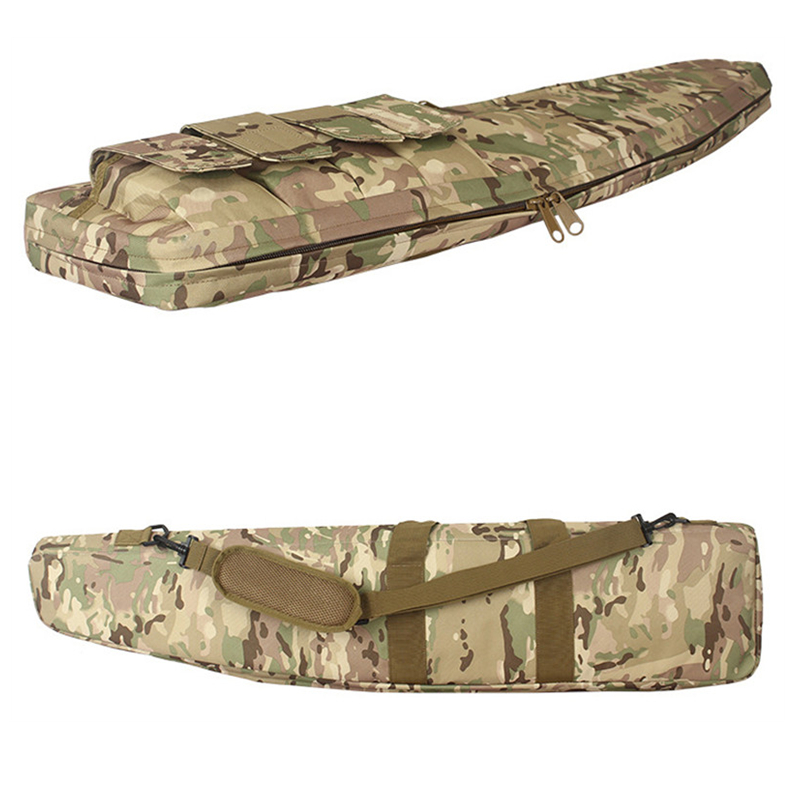 Image 3 - 70 100 120cm Hunting Bag Airsoft Military Sniper Gun Carry Rifle Case Army Combat Carbine Shoulder Backpack Hunting AccessoriesHunting Bags   -