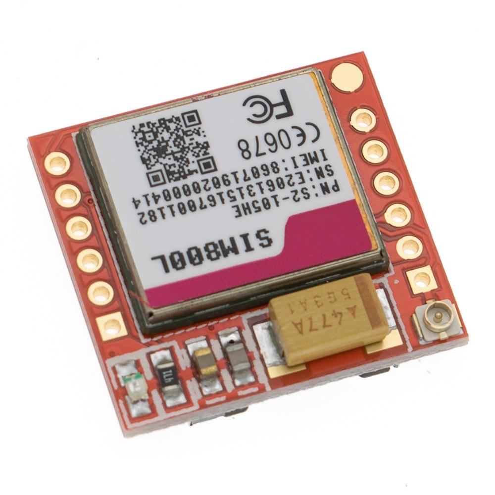 20pcs Smallest SIM800L GPRS GSM Module MicroSIM Card Core BOard Quad-band TTL Serial Port