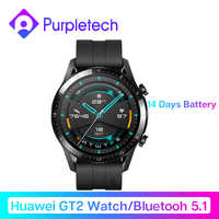 In Stock Original Huawei Smart Watch GT 2 GT2 GPS Two-Week Battery Life Waterproof Phone Call Heart Rate Tracker For Android iOS