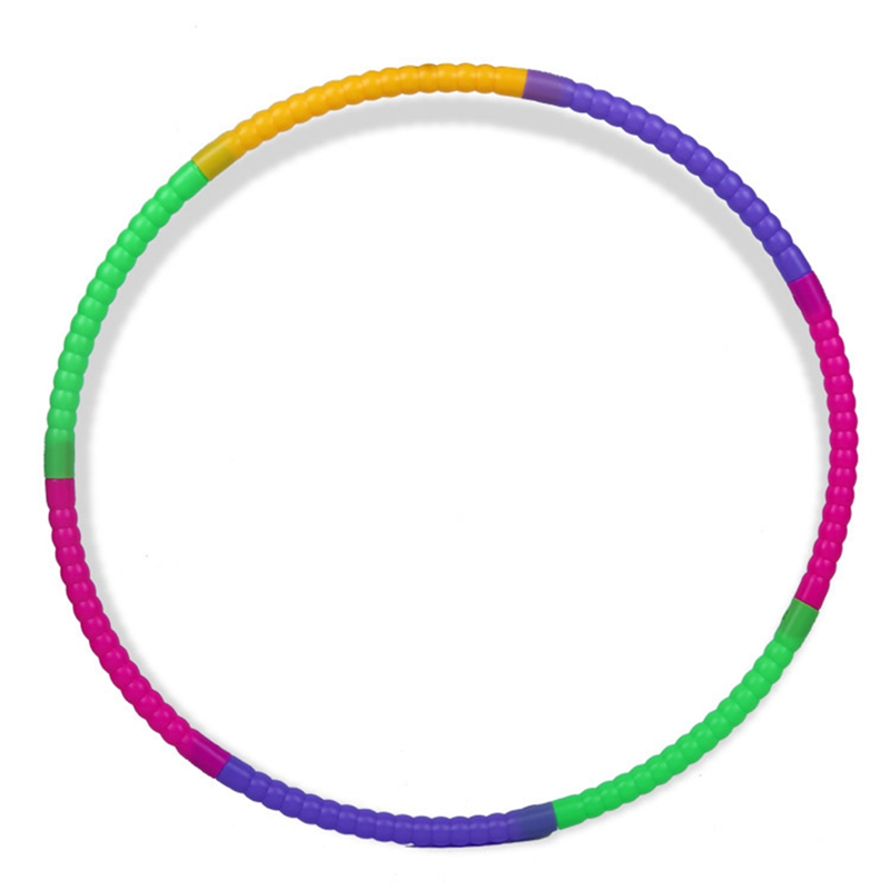 Removable Sport Hoop Children's Exercise Circle Plastic Massage Deconstructable Gymnastics  Hoop