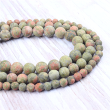 Frosted Green Natural?Stone?Beads?For?Jewelry?Making?Diy?Bracelet?Necklace?4/6/8/10/12?mm?Wholesale?Strand