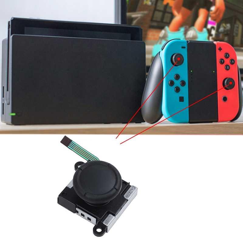 3D сменный джойстик, аналоговая палка для большого пальца для Nintendo Switch Joy-Con контроллер-включает в себя три крыла и крестовые отвертки +