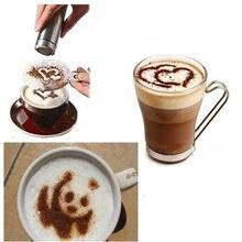 Acessórios práticos da cozinha 16pc modelo de impressão de café extravagante ferramenta de cozinha utensílios de cozinha café spray modelo gadgets de cozinha