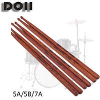 Professionelle Trommel Sticks 5A Hickory Nussbaum Holz 5B Drumsticks 7A Musical Instrumente Trommel Sticks Ein Paar