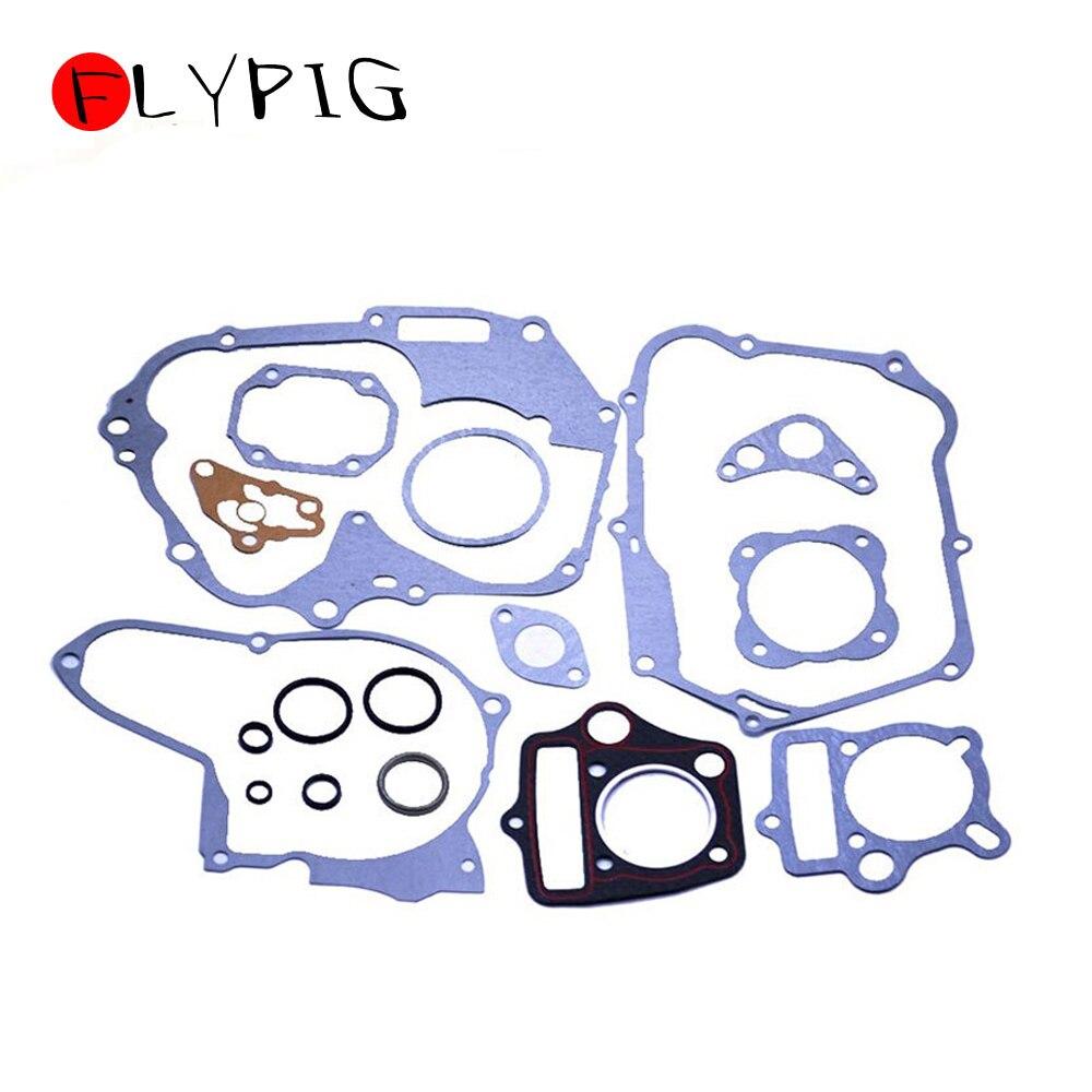 Детали двигателя мотоцикла FLYPIG, полная прокладка с комплектом сальников 50 70 90 110 125CC для китайского мотоцикла Honda