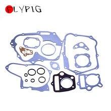 Peças de motor da motocicleta flypig junta completa com kits de vedação óleo 50cc 70cc 90cc 110cc 125cc para honda pit chinês bicicleta sujeira