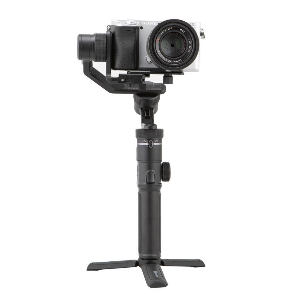 Feiyutech G6 MAX 3 Achsen Gimbal Stabilisator für Spiegellose Kameras/Smartphone/Action Kameras/Tasche Kameras, MAX Nutzlast 2,65 LB