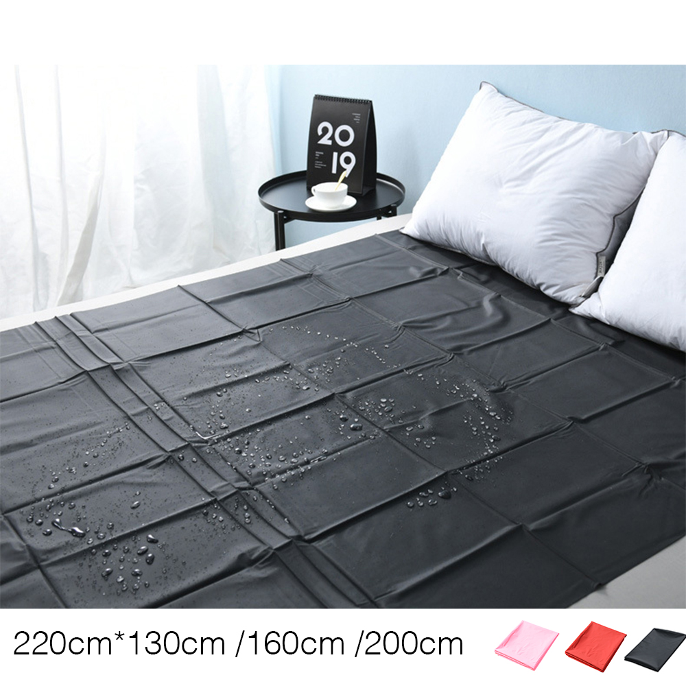 SPA Waterproof Sheet PVC Plastic Adult Sex Bed Sheets Waterproof Hypoallergenic Mattress Cover 3 Sizes 3 Colors