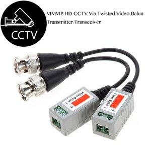 Image 2 - 20Pcs Ahd/Cvi/Tvi Twisted Bnc Cctv Video Balun Passieve Transceivers Utp Balun Bnc Cat5 Cctv Utp video Balun Tot 3000ft Range