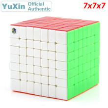 YuXin ZhiSheng HuangLong 7x7x7 Magic Cube 7x7 Professional Speed Puzzle Brain Teasers Educational Toys For Children 7x7x7 professor rubiks cube competition speed magic cube puzzle educational toys for children