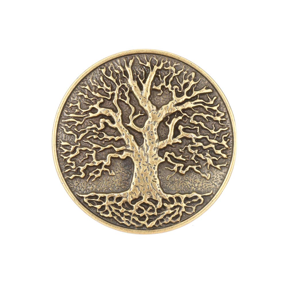 Life Tree  Belt  Buckle For Woman Western Cowboy Buckle Without Belt Custom Alloy Width 4cm