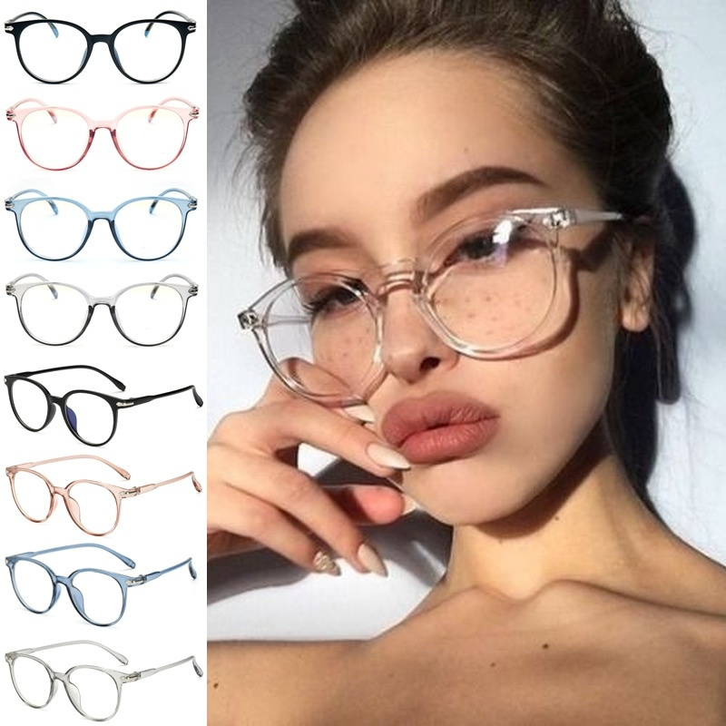 Cat Eye Sunglasses Spectacle Optical Frame Glasses Clear Lens Vintage Anti-Radiation Eyeglasses For Women And Men Glasses