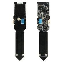 Ttgo t higrow esp32 bateria elétrica, sensor elétrico fotométrico bateria bluetooth e solo dht11