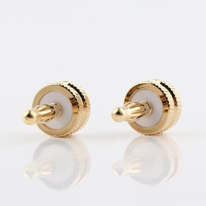 Image 4 - Hifi audio 8pcs CA705 gold plated Noise Stopper Amplifier Terminal Binding Post Caps