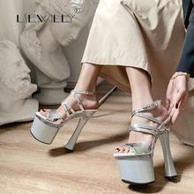 Lsewilly/2020; Женская обувь на очень высоком каблуке; Летние