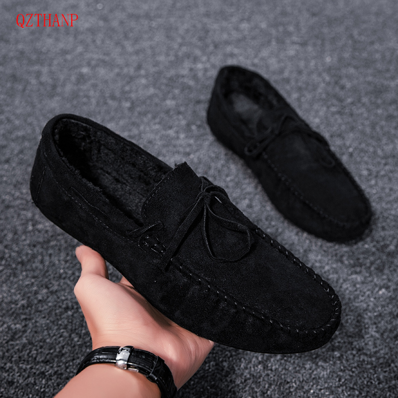 2019 Fashion Spring/Summer Man Casual Shoes Adult Flock Men Comfortable Shoes Men Shoes Leather Casual Breathable Shoes Flats