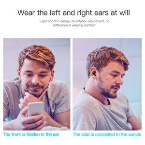 Image 4 - S650 Mini Bluetooth écouteur sans fil dans loreille Invisible écouteurs mains libres casque stéréo avec micro pour iPhone 11 Huawei Mate 30