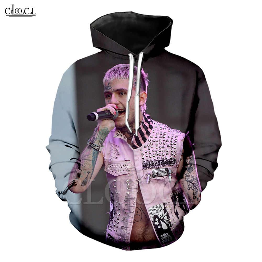 Nieuwe Populaire Rapper Lil Peep Mannen Vrouwen Hoodie 3D Print Lange Mouwen Hooded Sweatshirt Hiphop Streetwear Casual Paar Tops