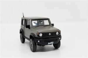 Image 4 - 1:64 BM Creations Suzuki Jimny (JB74) Matte Grey w/accessory pack Right Hand Drive Diecast Model Car