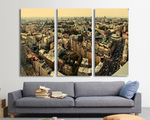Modern Colorful Photo Picture kiev panorama Room Decor 3 pcs Cities Canvas Art Painting Living Bedroom
