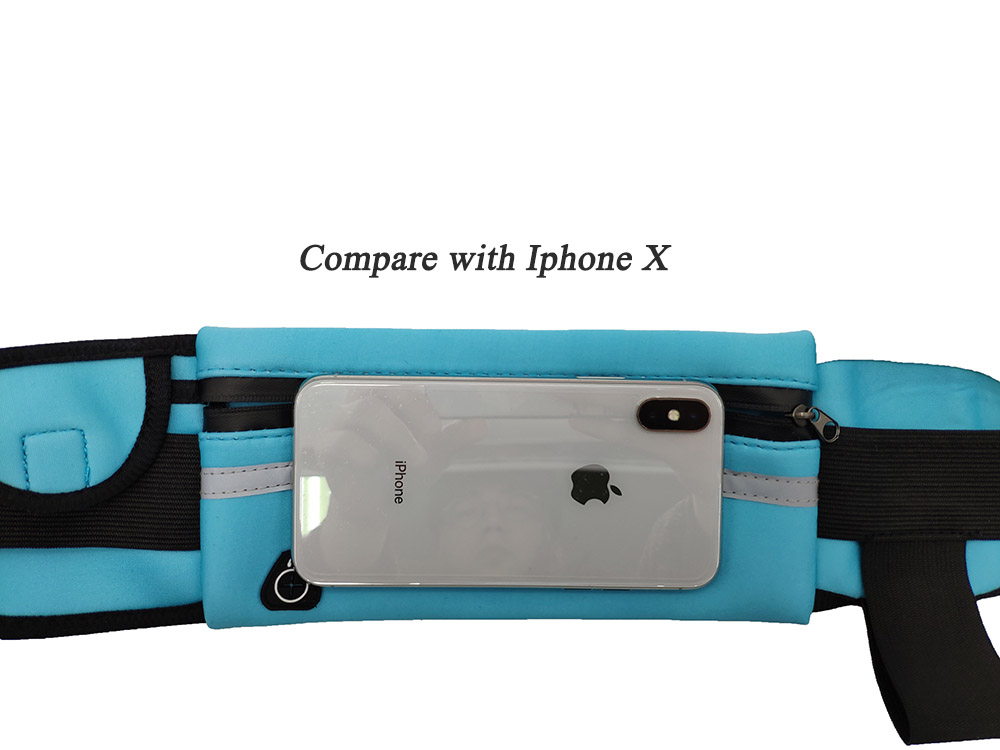 Image 5 - Running Belt Waist Phone Bag Running Bags Sport Pocket Jogging Pack Phone Pouch Wallet With Bottle Holder Anti theft aonijie-in Running Bags from Sports & Entertainment