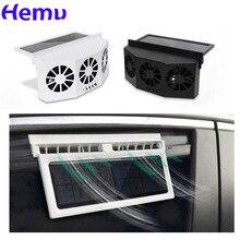 Автомобильный Вентилятор охлаждения вытяжной вентилятор 3 портативный охлаждающий вентилятор на солнечной энергии безопасный Вентилятор ...