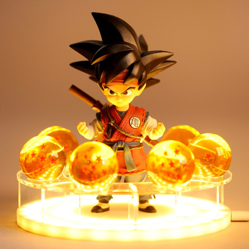 Original Box 7pcs/<font><b>set</b></font> Dragon Ball Z 7 Stars Crystal Ball <font><b>DragonBall</b></font> 18cm Dragon Ball Z Action <font><b>Figures</b></font> Shenron <font><b>Figures</b></font> <font><b>Set</b></font> Kids image