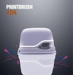 Printbrush xdr mini impressora de código de barras a cores inkjet personalizado tatuagem foto logotipo código portátil impressora de mão
