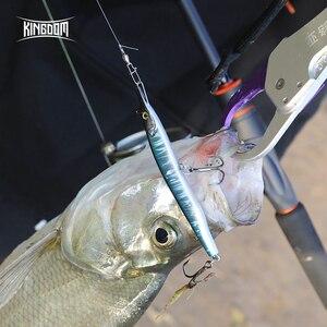 Image 5 - בריטניה 2019 מחט דגי עיפרון דיג פתיונות 100mm 13g 135mm 32g שני לשחות פעולה קשה פיתיונות שוקע פיתוי stickbaits Wobblers
