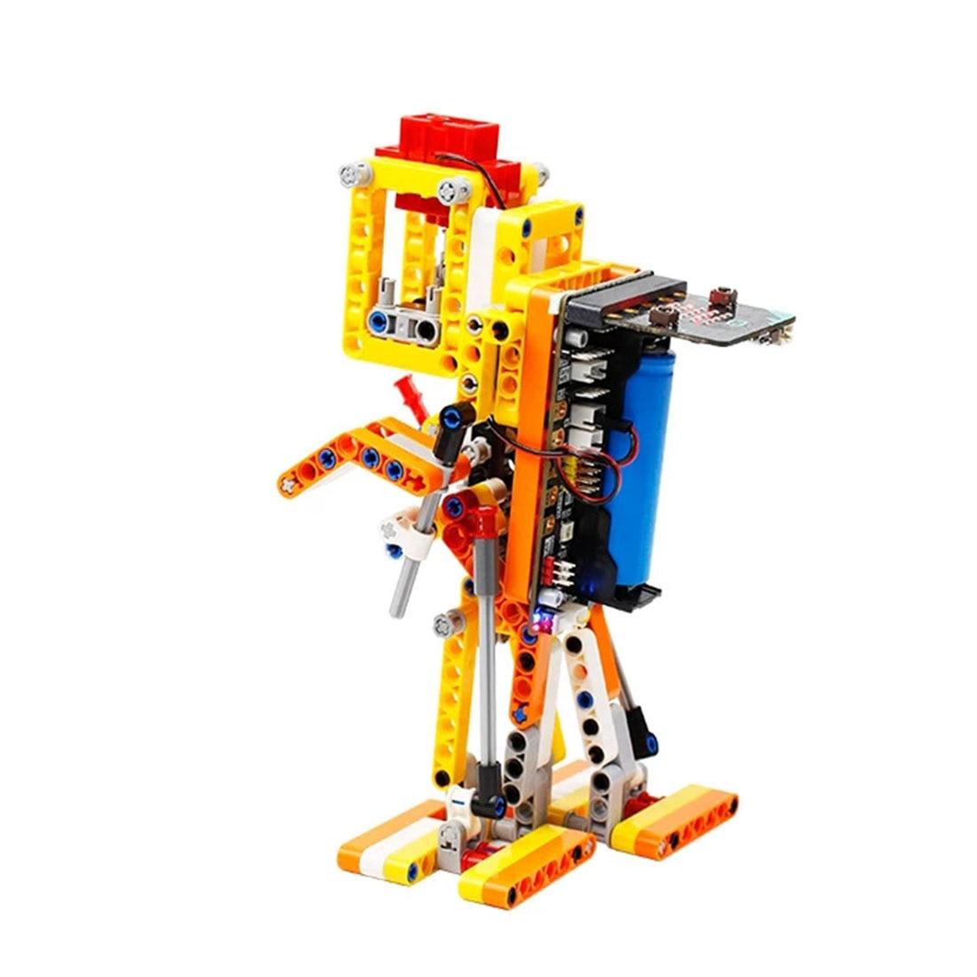 Program Intelligent Walking Robot Kit Steam Programming Education Robot For Micro:Bit Programable Toys Men Kids Gift Hot Sale