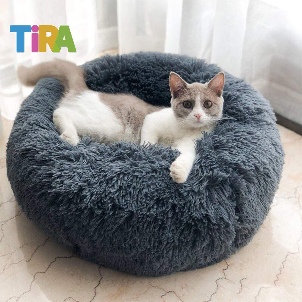 Pet Supplies Round Shape Nesting Dog Cave Bed Pet Cat Bed for Cats and Small Dogs Cat Litter Summer Universal Cat House Desirabely