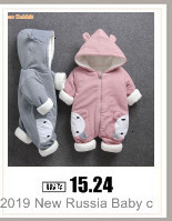H0f219bcd47114060913fbf6a71fed862b Baby boy girl Clothes 2019 New born Winter Hooded Rompers Thick Cotton Outfit Newborn Jumpsuit Children Costume toddler romper