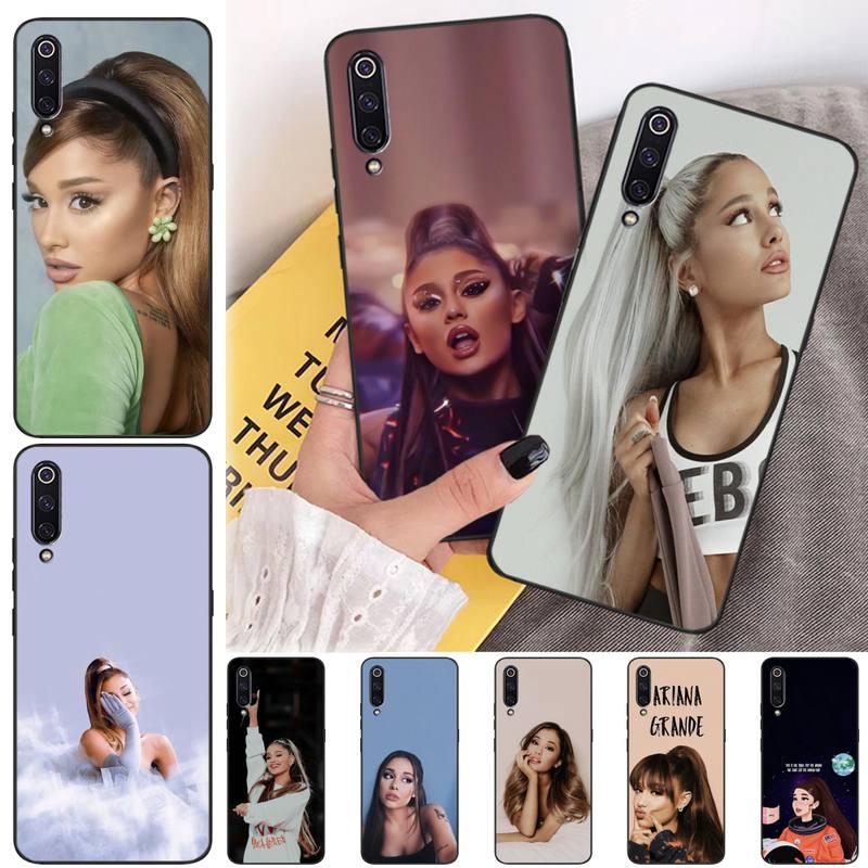 ZUOHC Ariana Grandes Phone Case For Redmi Note 9 Mi 3 7 8 9se For Redmi 7 7a 8 8t 10 Pro Lite Cases Cover