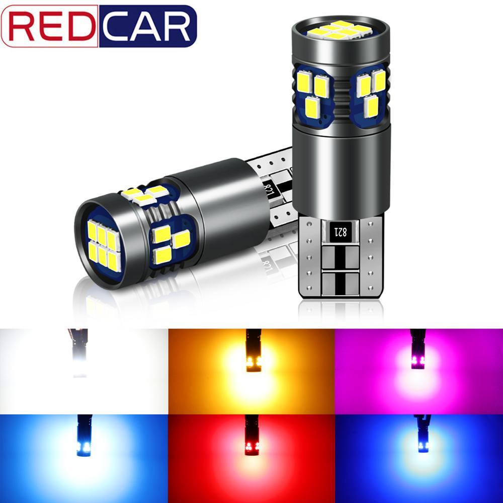 2 pces t10 w5w lâmpada led super brilhante 18smd 3030 chips 168 194 transformar singal luz acessórios do carro luzes de apuramento 6000 k auto 12 v